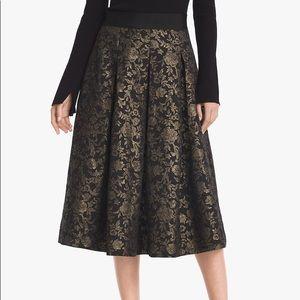 White House Black Market Midi Skirt